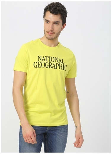 National Geographic National Geographic Sarı T-Shirt Sarı